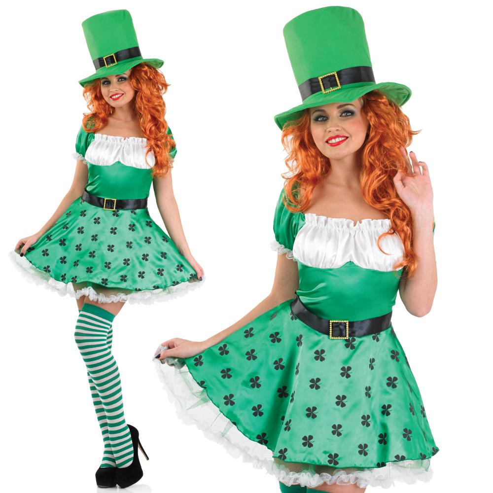 Sexy Leprechaun outfit for women.