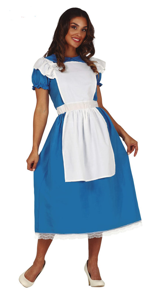 Adult Little Blue Girl Alice in Wonderland Costume