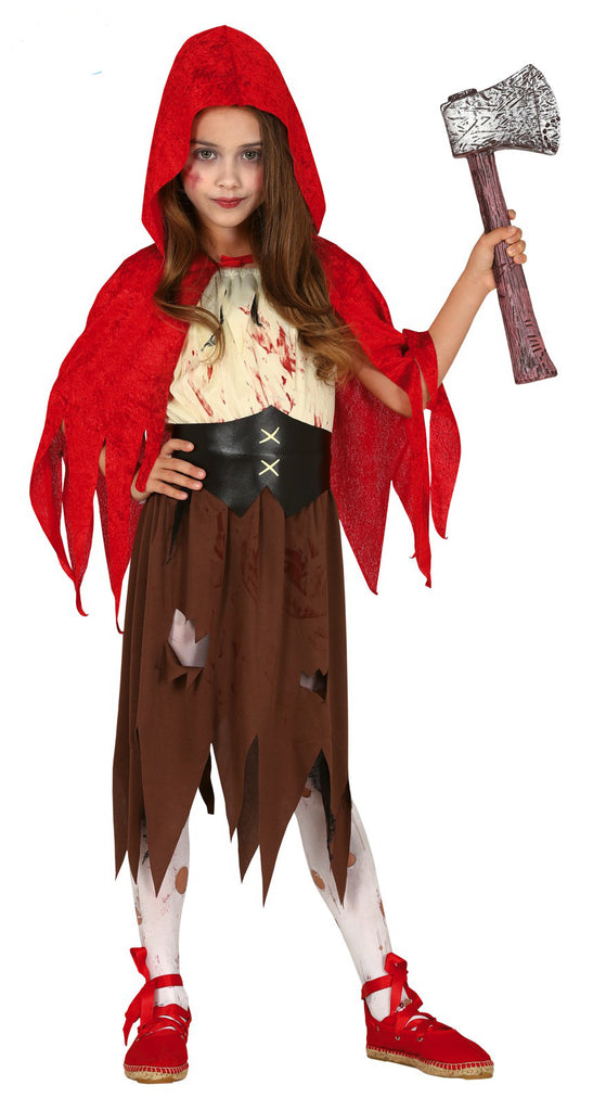 Little Dead Riding Hood Costume Girls