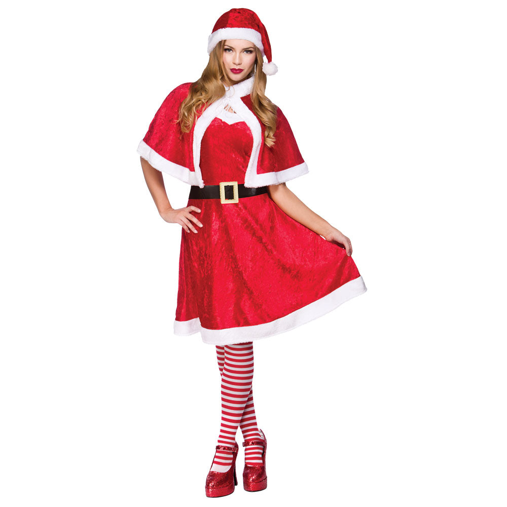 Little Miss Santa Costume Ladies