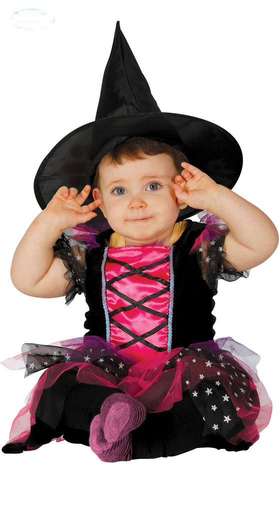 Little Pink Witch toddler costume