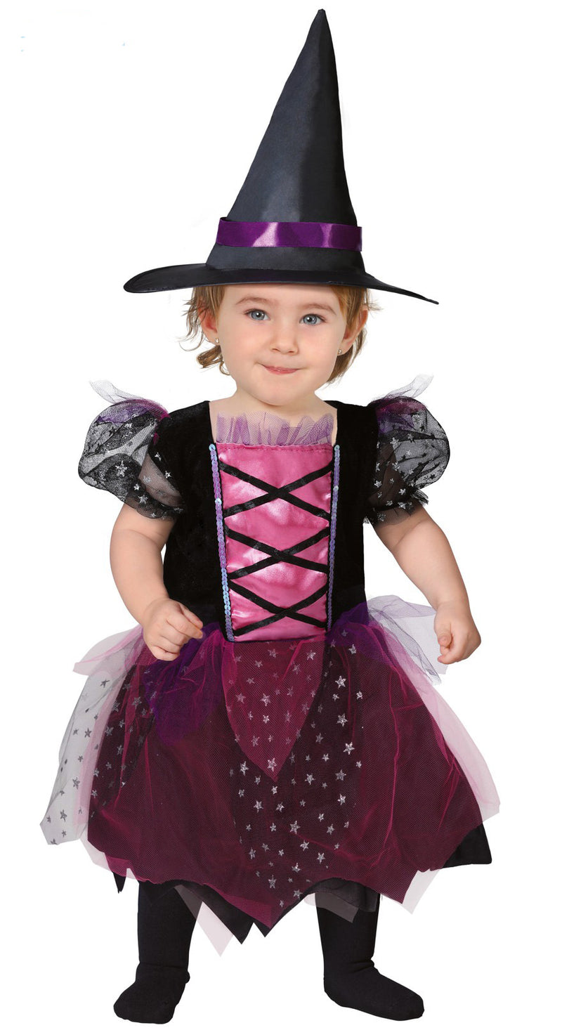 Little Pink Witch Toddler outfit.