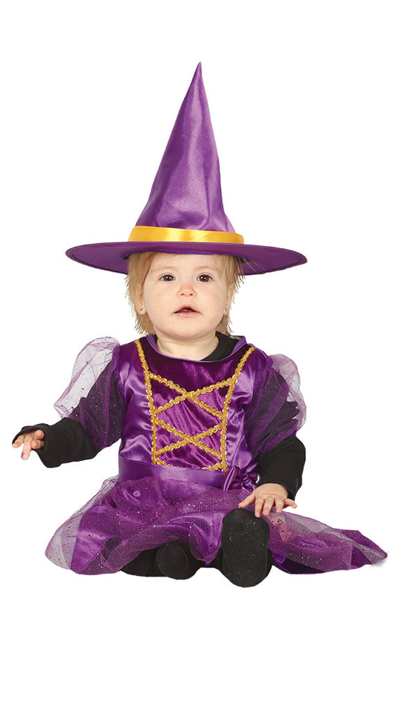 Little Purple Witch Toddler Halloween Costume