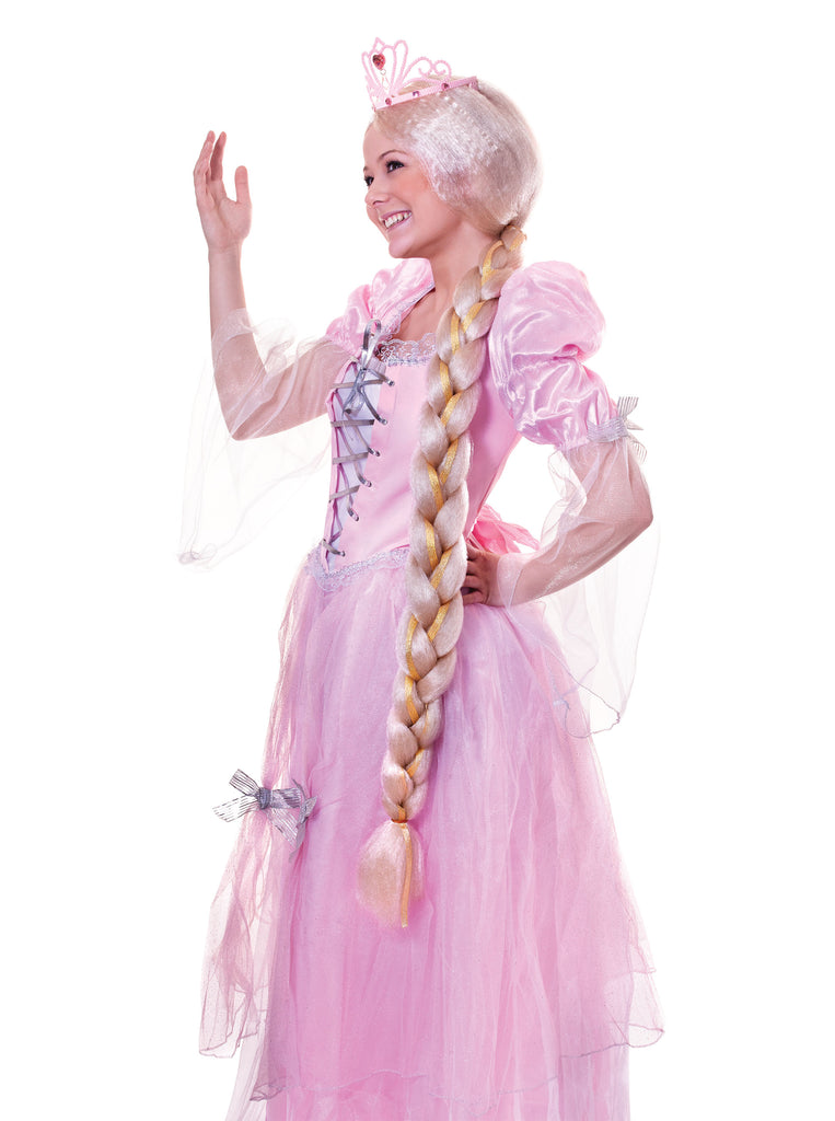 Long Plaited Rapunzel Wig