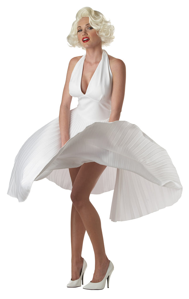 Marilyn Monroe Deluxe White Dress