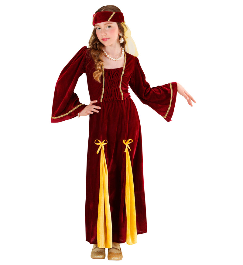 Girls deluxe Medieval Renaissance Princess Costume