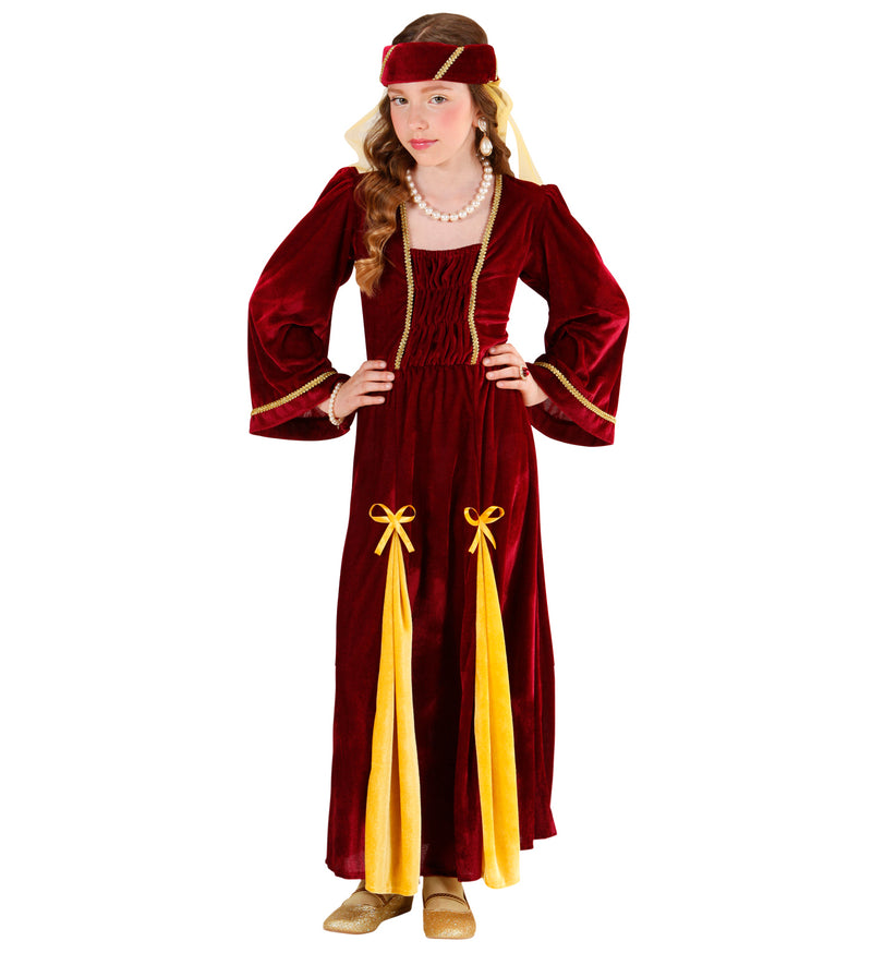 Children's medieval Renaissance Princess dress