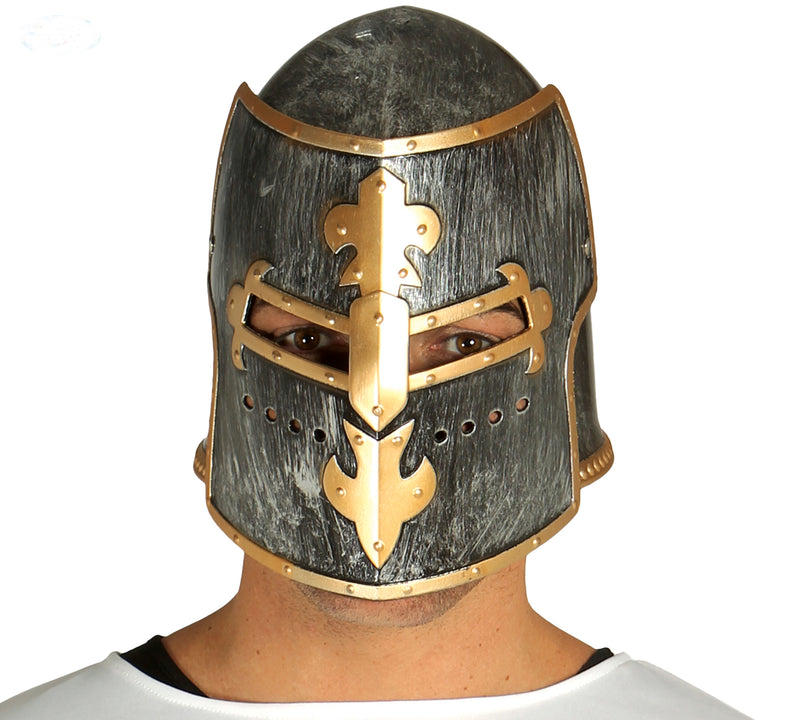 Medieval Knight Helmet Fancy Dress