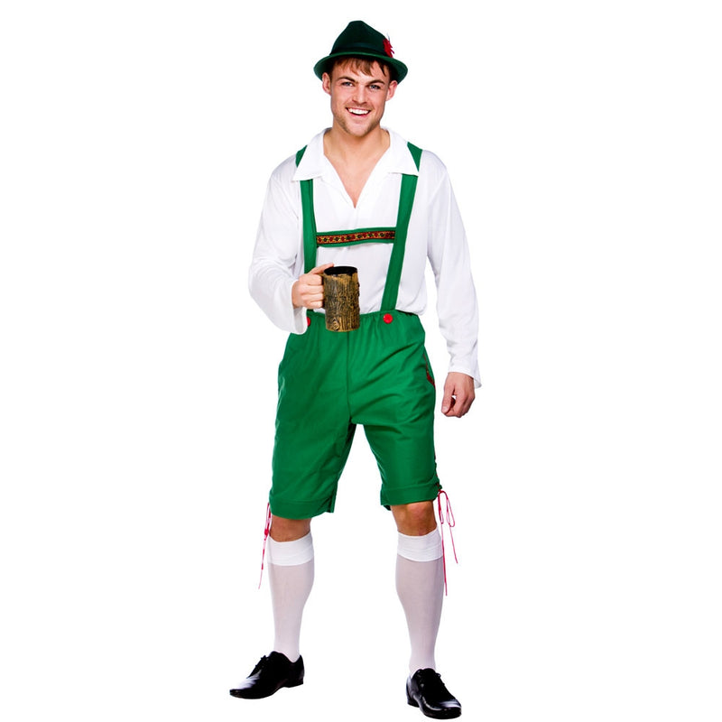 Men's Green Oktoberfest Fancy Dress Costume