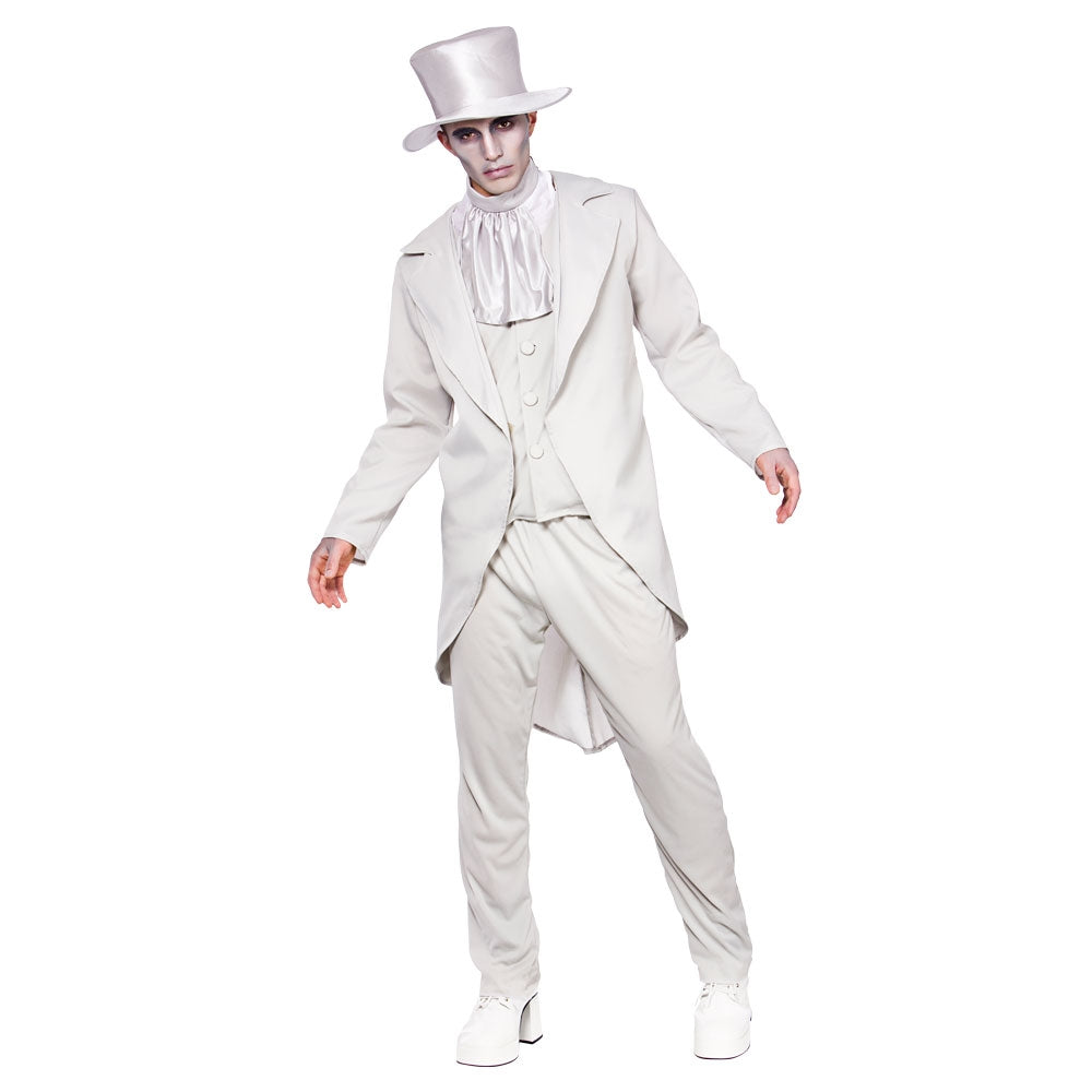Men's Ghastly Groom Halloween Costume