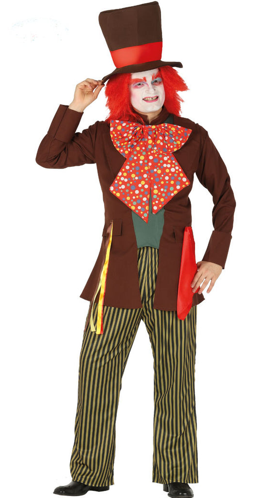 Men's Mad Hatter Hat Maker Costume