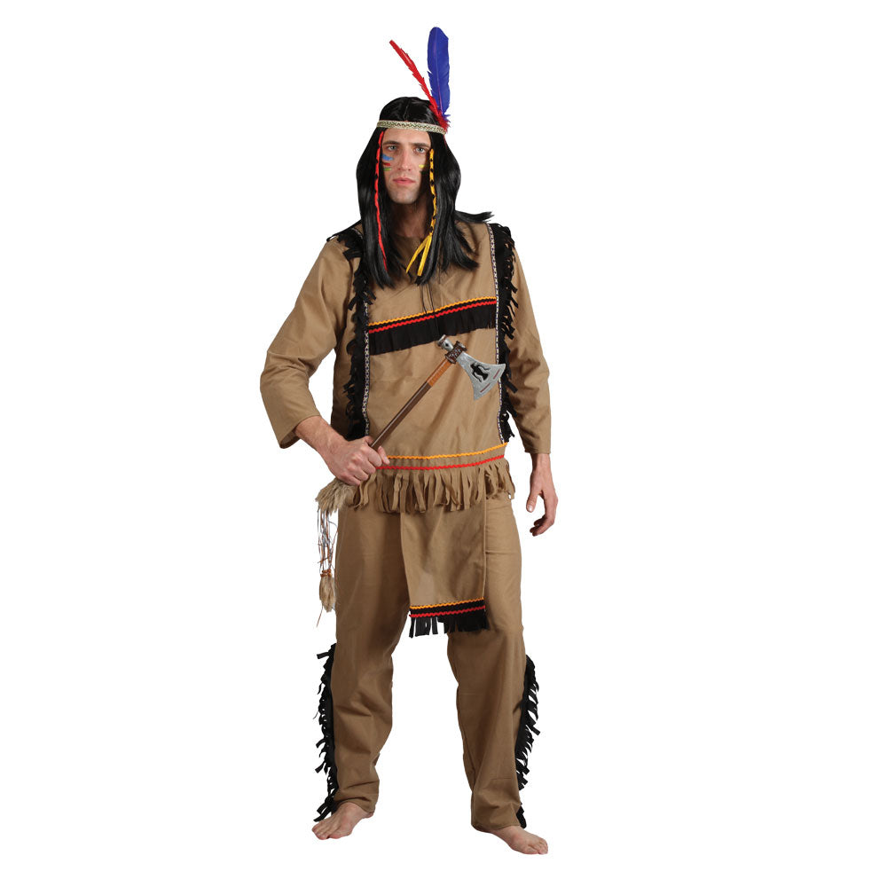 Men's Native American Indian fancy dress costume
