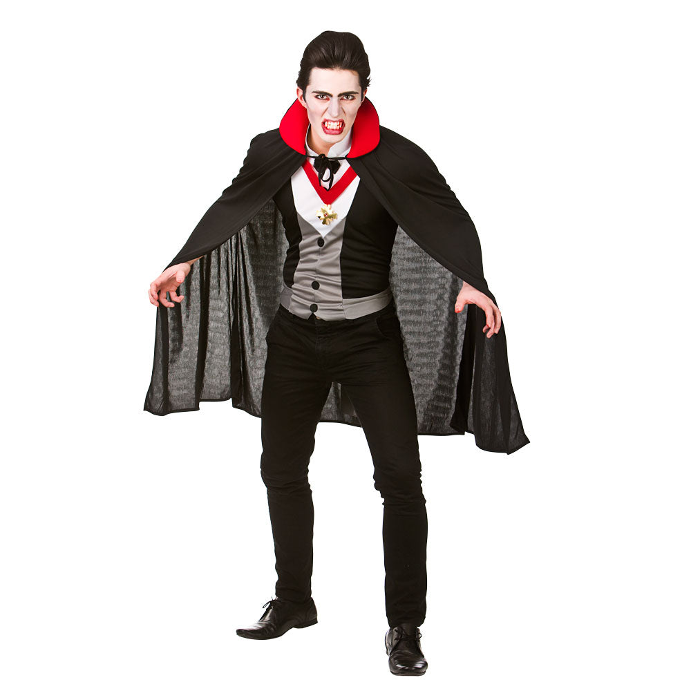 Mens Bloodthirsty Vampire Fancy Dress Costume