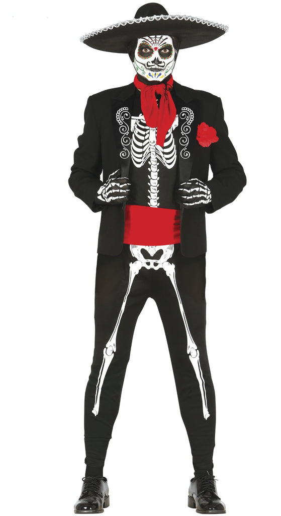 Mexican Skeleton Day of the Dead Costume