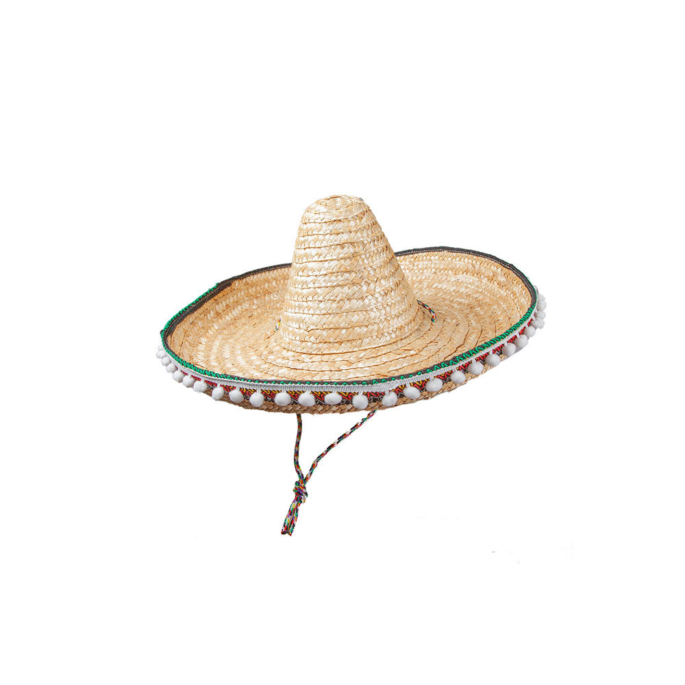 Deluxe Mexican Sombrero with tassels.