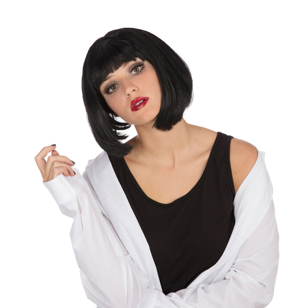 Mia Pulp Fiction Wig Black