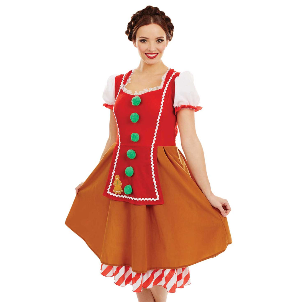 Miss Gingerbread Costume for women