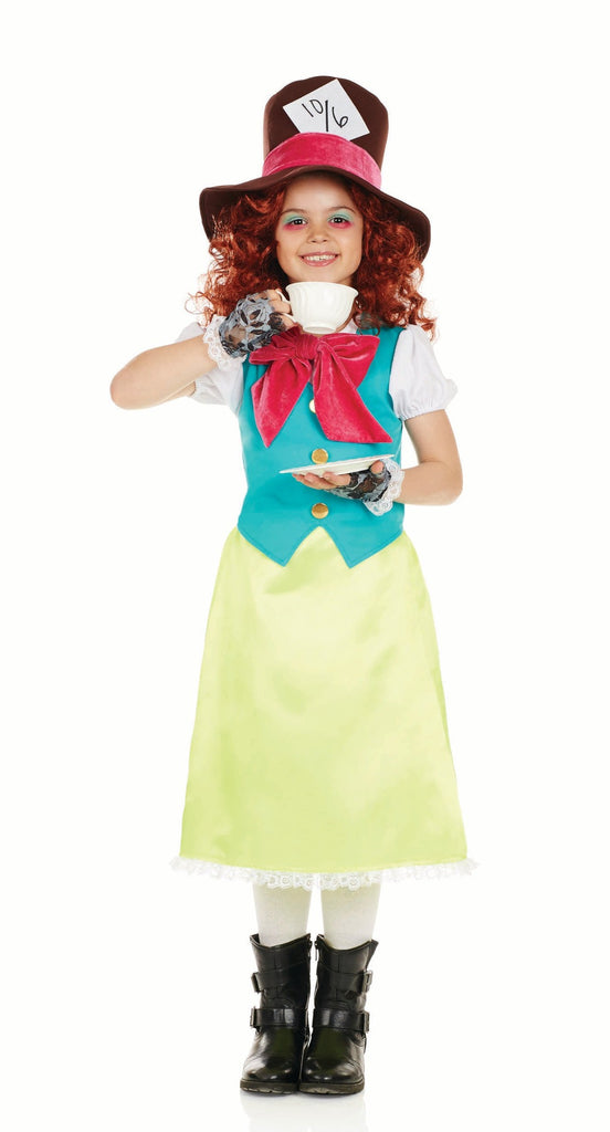 Miss Hatter Girls fancy dress costume.