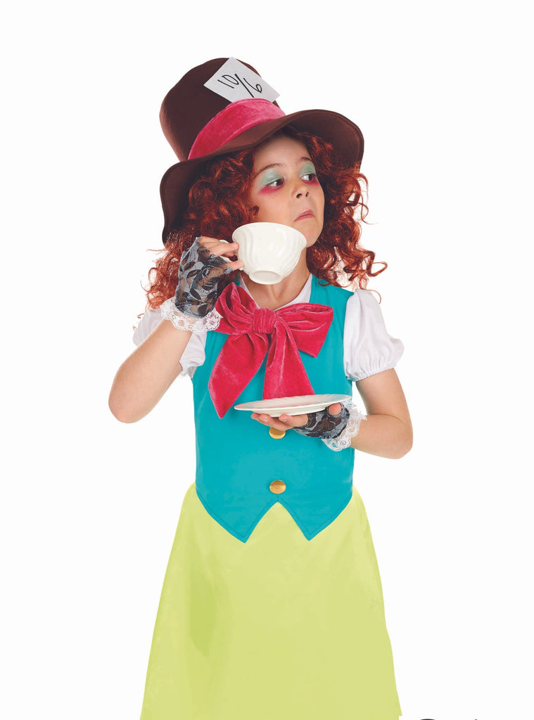 Miss Hatter Girls fancy dress outfit.
