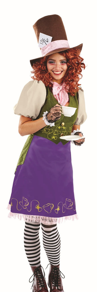 Women's Miss Mad Hatter Costume