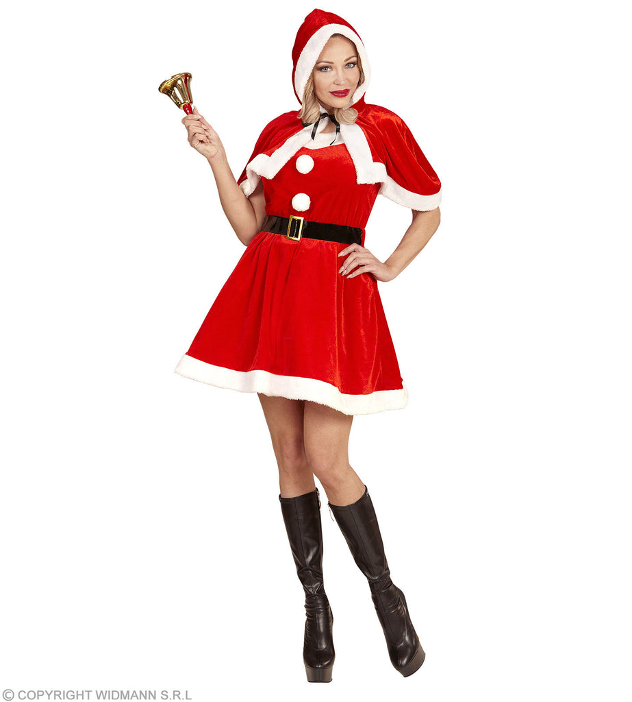 Miss Santa Velvet Plush Costume