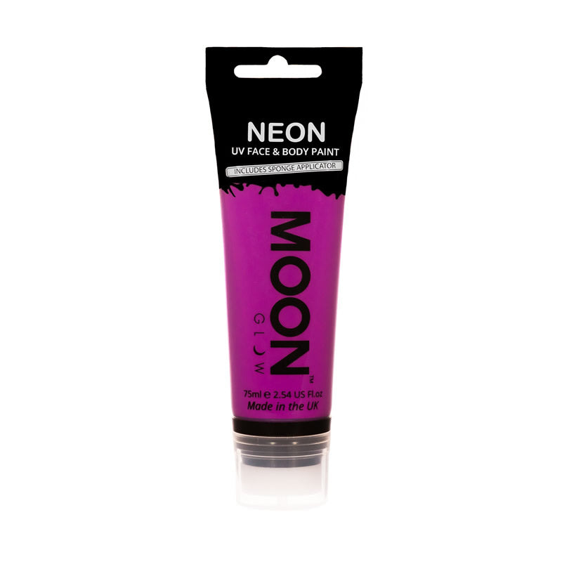 Moon Glow 75ml Neon UV Face & Body Paint Purple