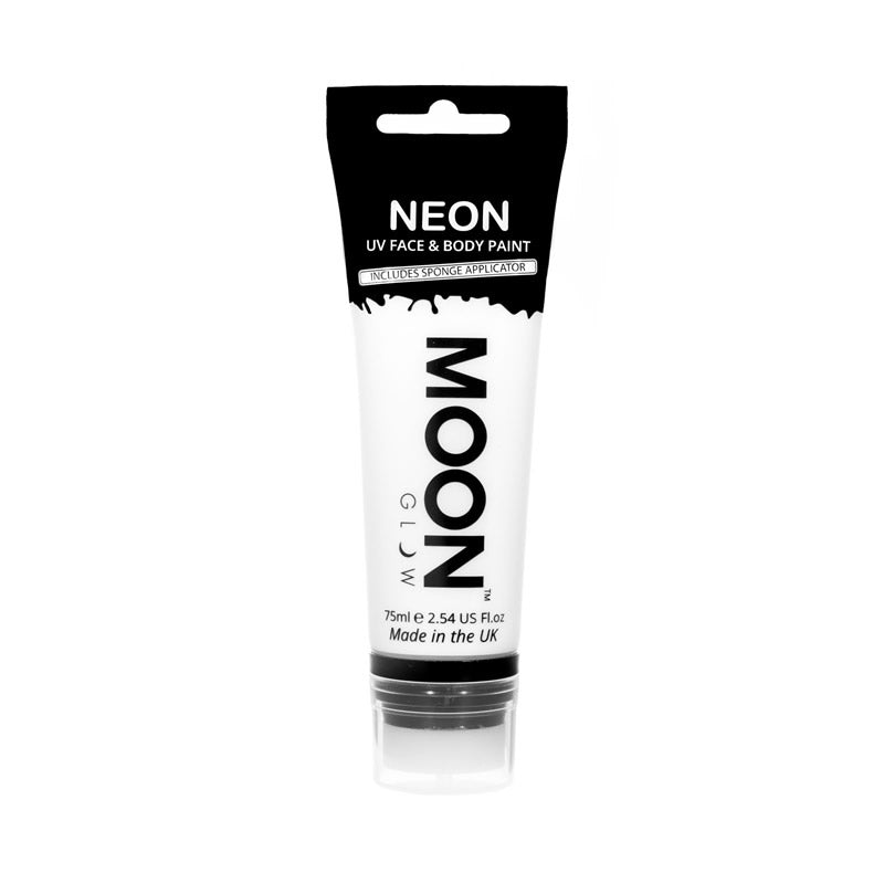 Moon Glow 75ml Neon UV Face & Body Paint White