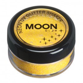 Moon Glow UV Glitter Shaker Golden Yellow