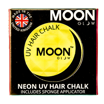 Moon Glow 3.5g UV Neon Hair Chalk Intense Yellow