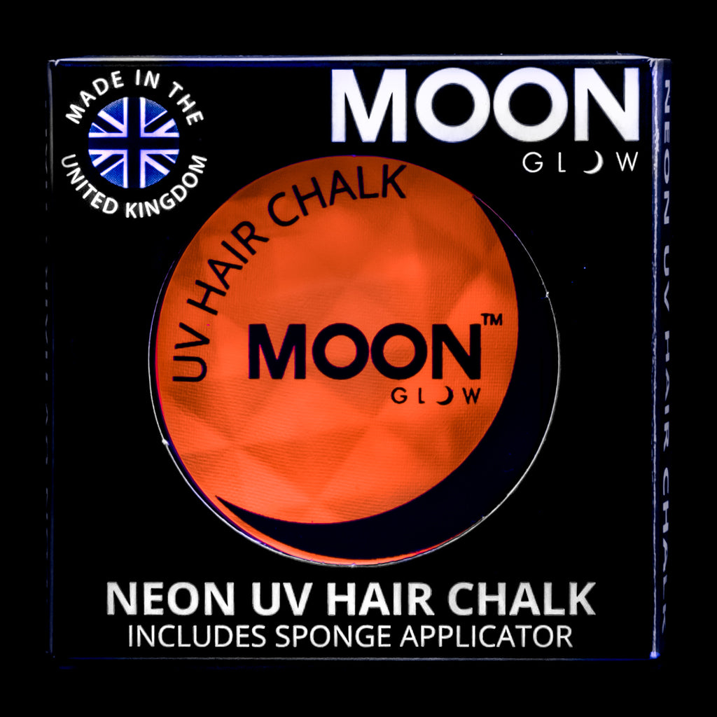 Moon Glow UV Neon Hair Chalk Intense Orange