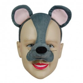 Mouse Animal Mask On Headband With Sound