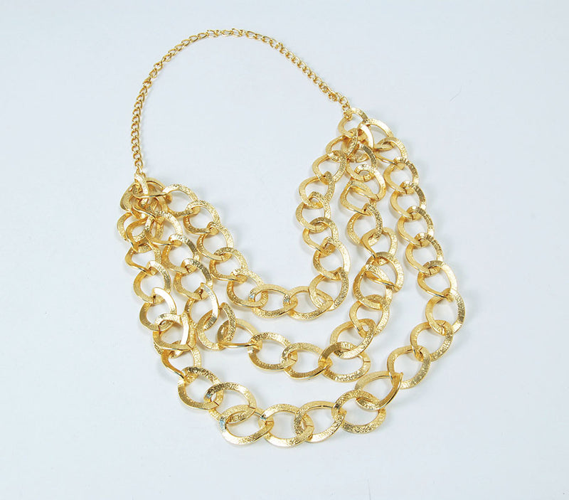 Mr T Bling Gold Chain Costume jewelry