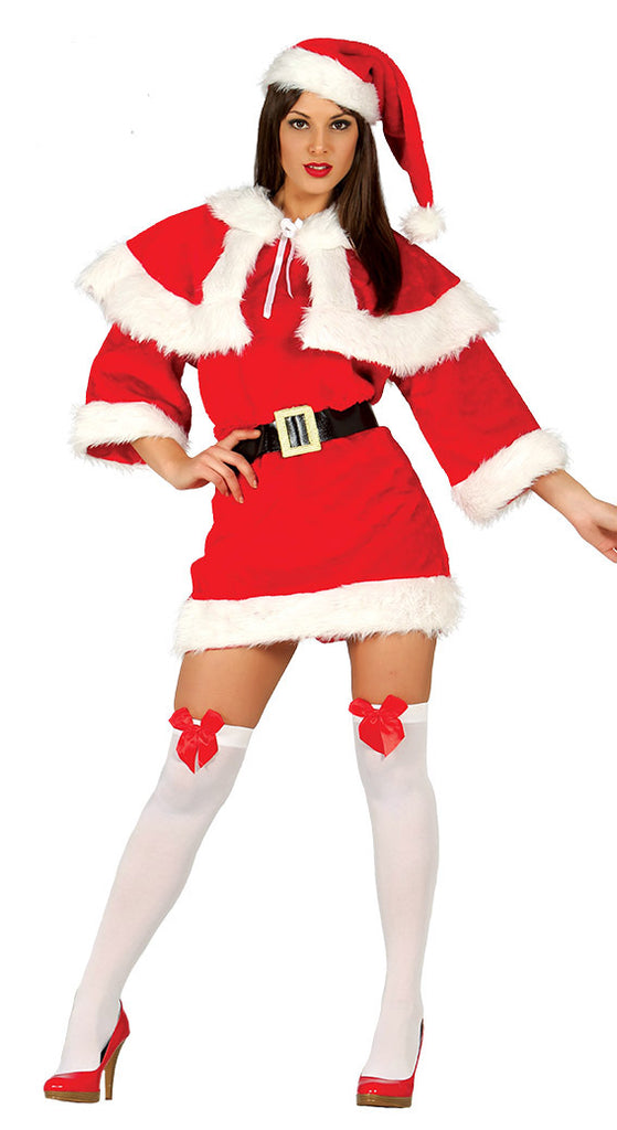 Mrs Claus Festive Sexy Christmas Costume Adult