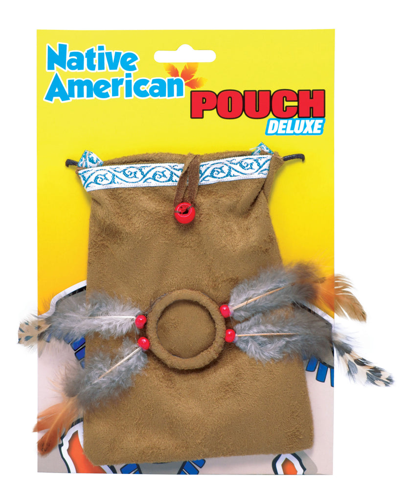 Native American Indian Pouch fancy dress costume accessory.