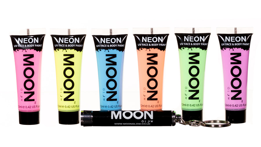 Moon Glow Pastel UV Face Paint Giftset