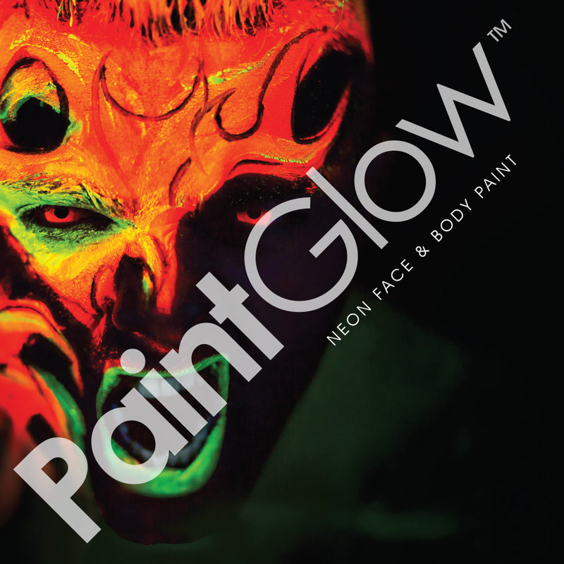 Paintglow Pro UV Face and Body Paint 50ml White