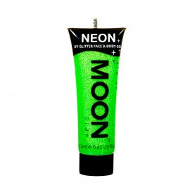 Moon Glow 12ml Glitter Gel UV Green