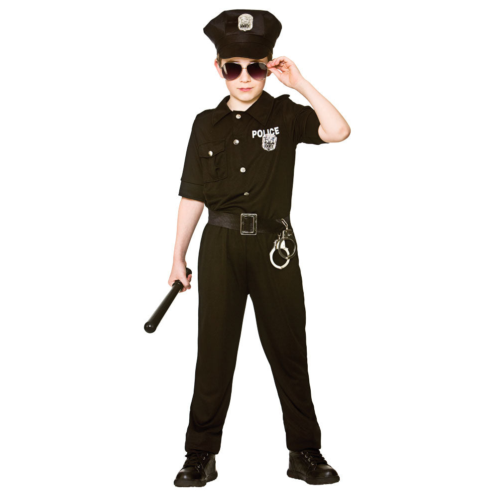 New York Cop Costume Boys
