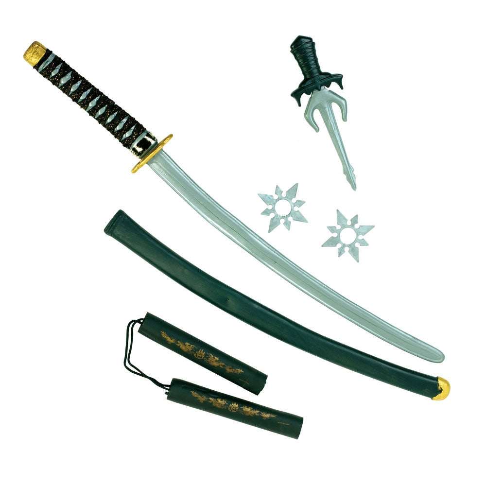 Ninja Sword Set Costume Accessory