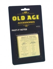Old Age Past-It Notes Funny Gifts