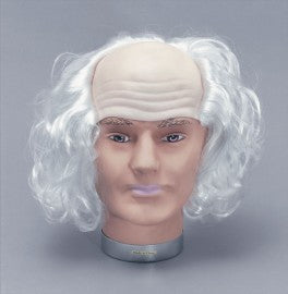 Old Man Wig White Hair