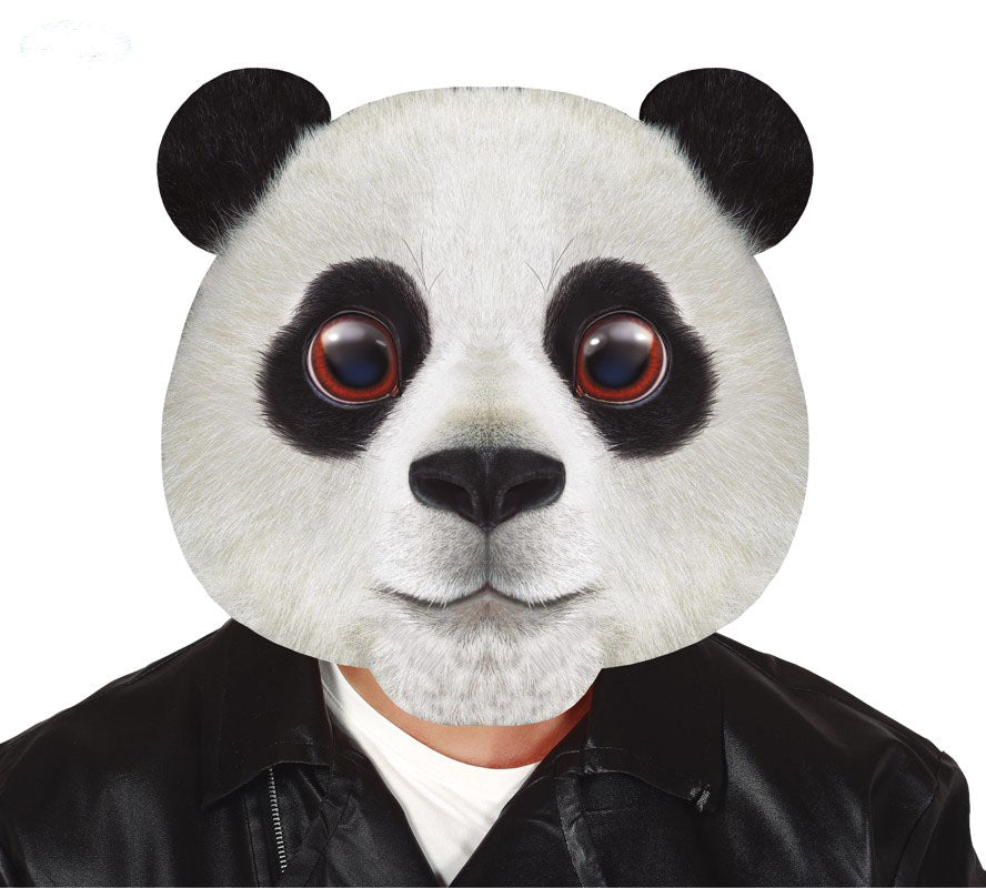 big head panda oversized  animal mask