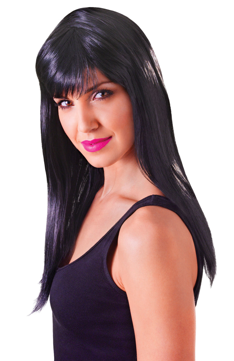 Passion Wig Long Black
