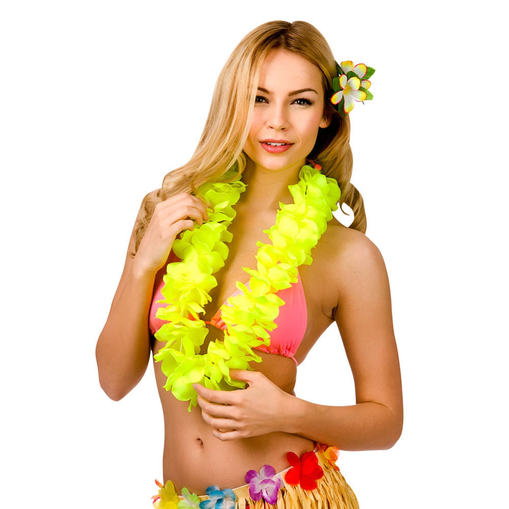 Hawaiian Lei - Yellow Petal