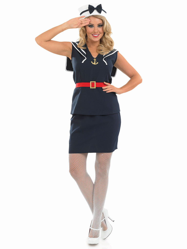 Adult Pin Up Sailor costume for women