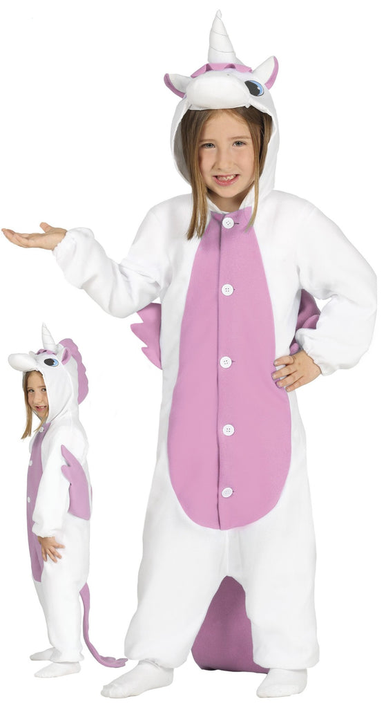 Girls Pink Unicorn Children's Onesie