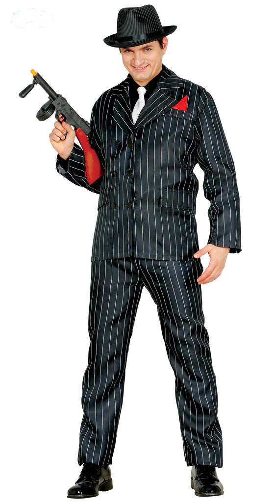 1920's Pinstripe Gangster Suit Costume