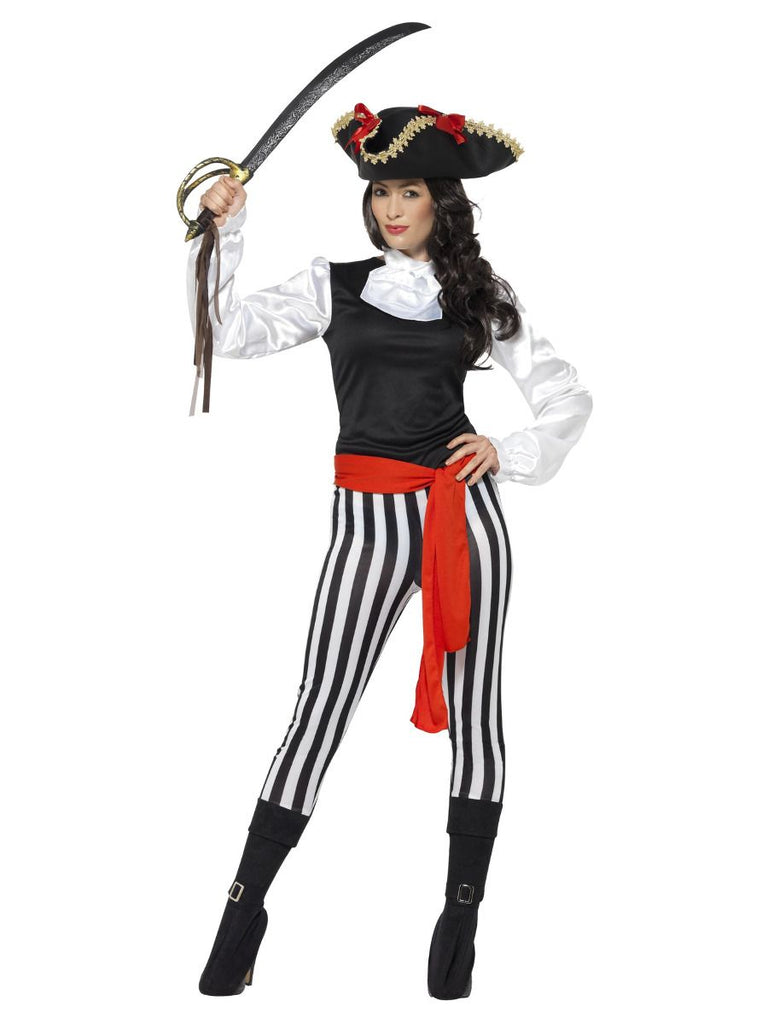 Adult Pirate Lady fancy dress costume