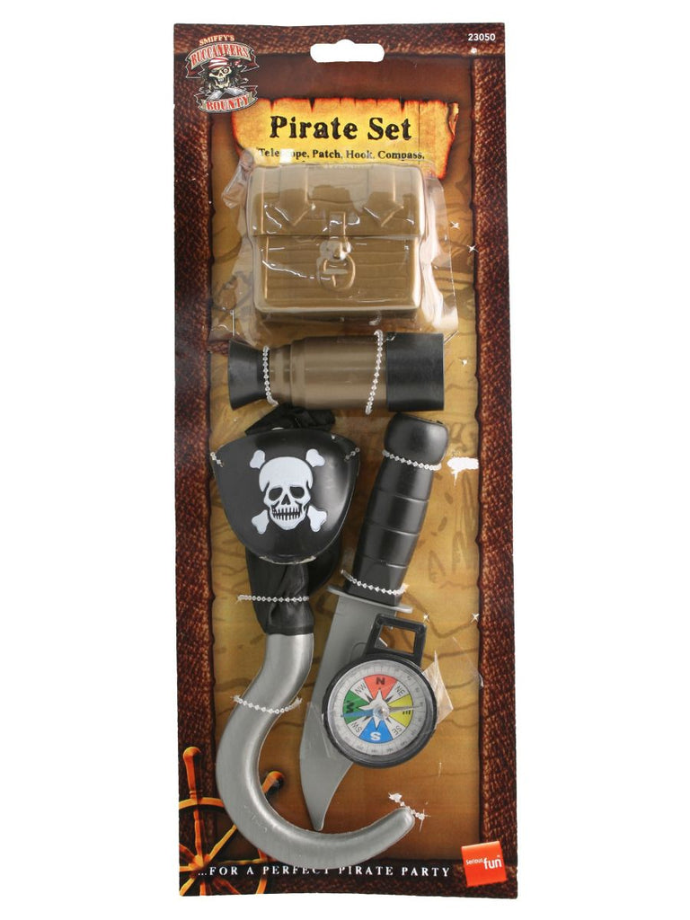 Pirate Set With Compass