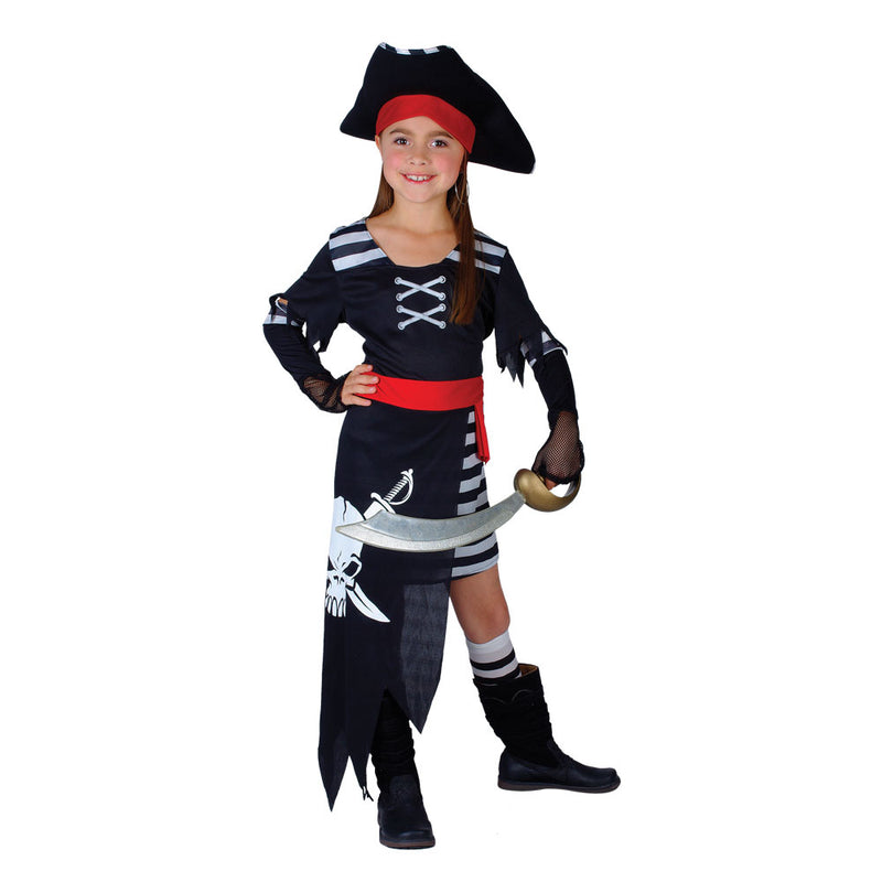 Pirate Princess Caribbean Girls Costume